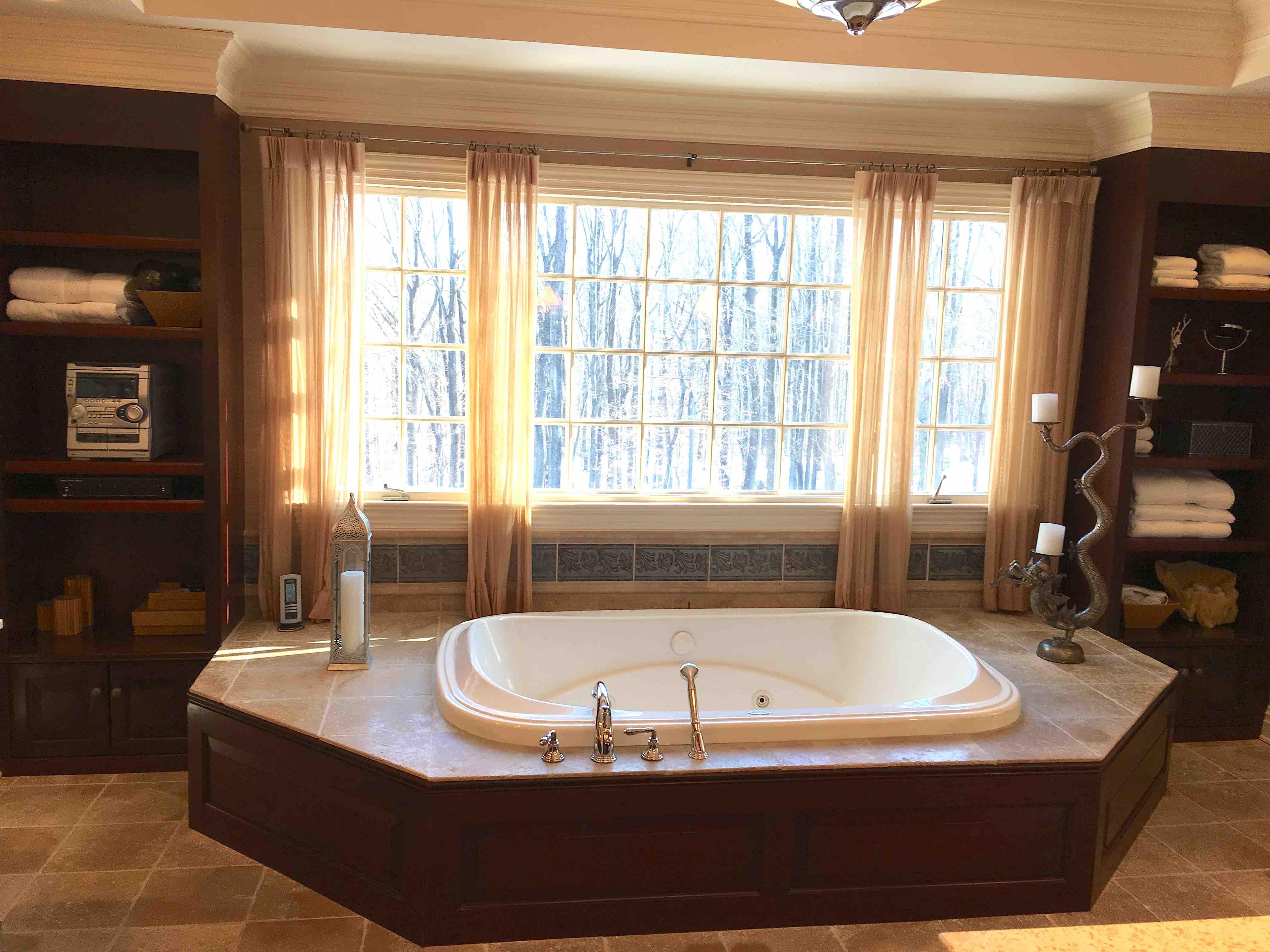 Master Bathroom Renovation Before