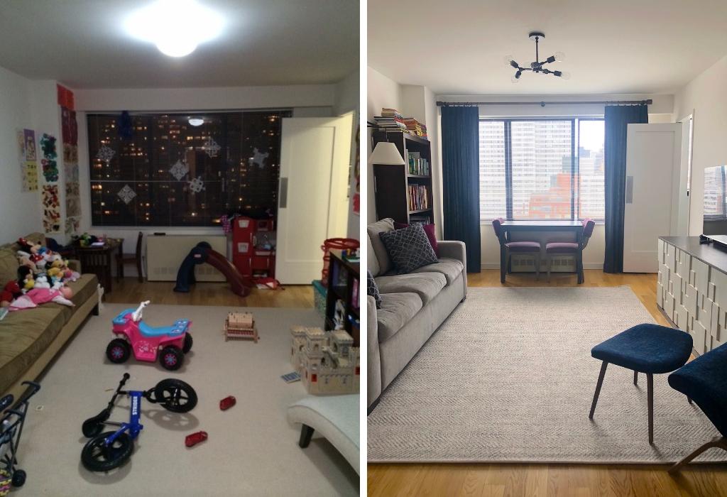 New York City - Family Room Design