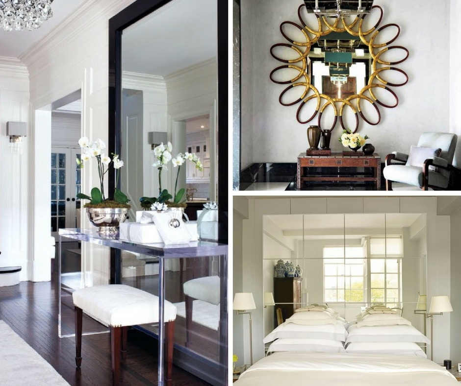Using Mirrors to Enhance Interior Design