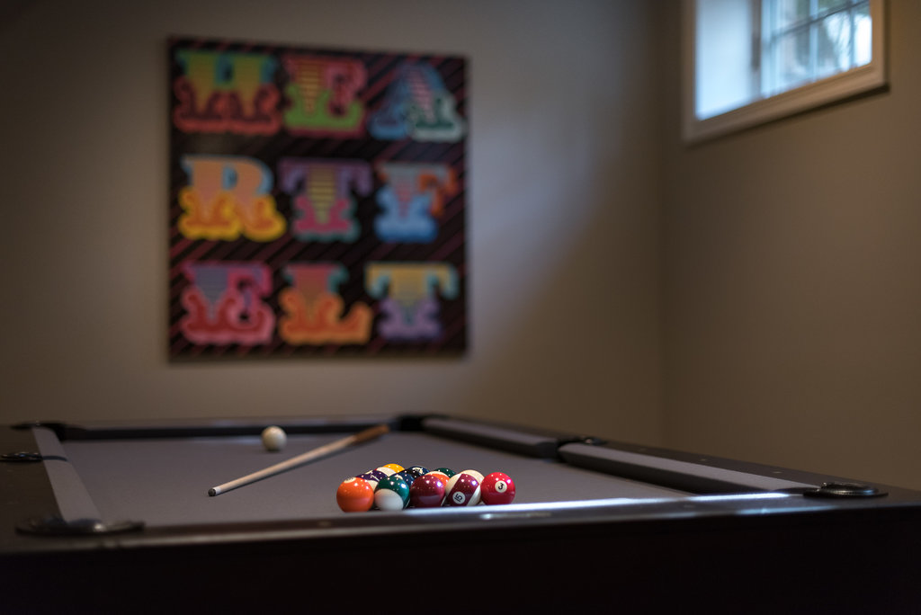 Game Room Design - Pool Table