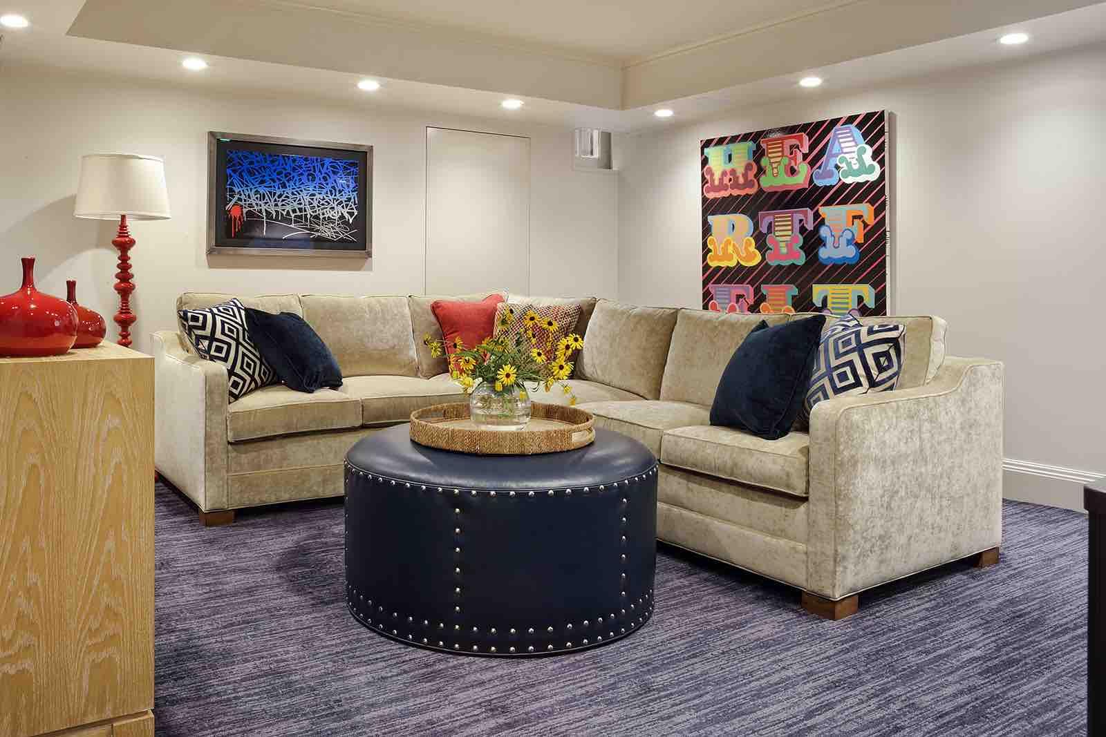 Basement – Summit, NJ Home Renovation