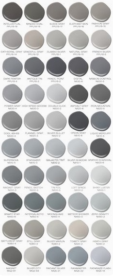 Behrs 50 Shades Of Grey Paint