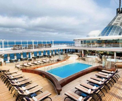 Silverseas Cruise Ship - Boat Deck