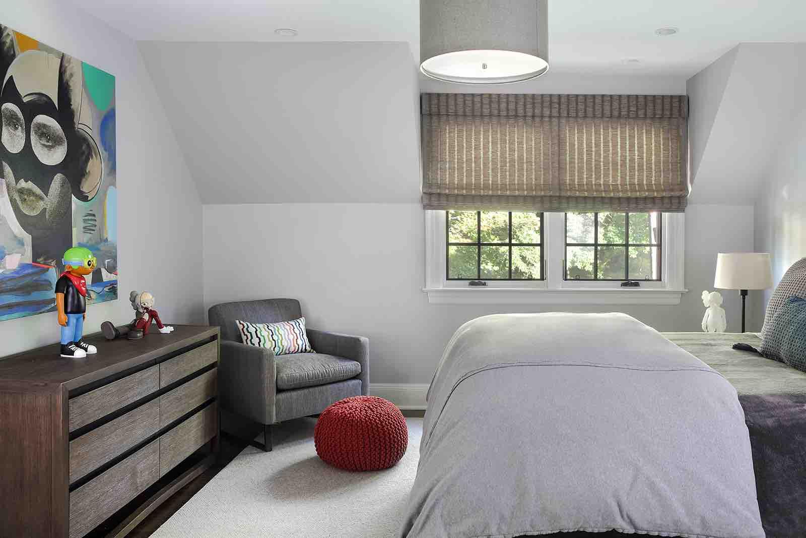 Teen Boy's BEDROOM & BATH – Summit, NJ Home Renovation