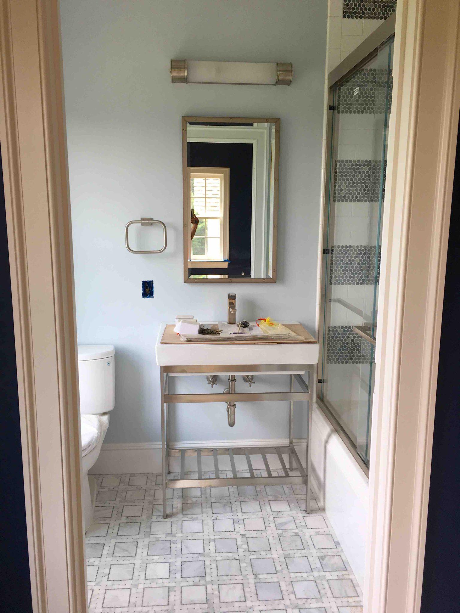 Boy's Bathroom - Dutchess County Home Renovation