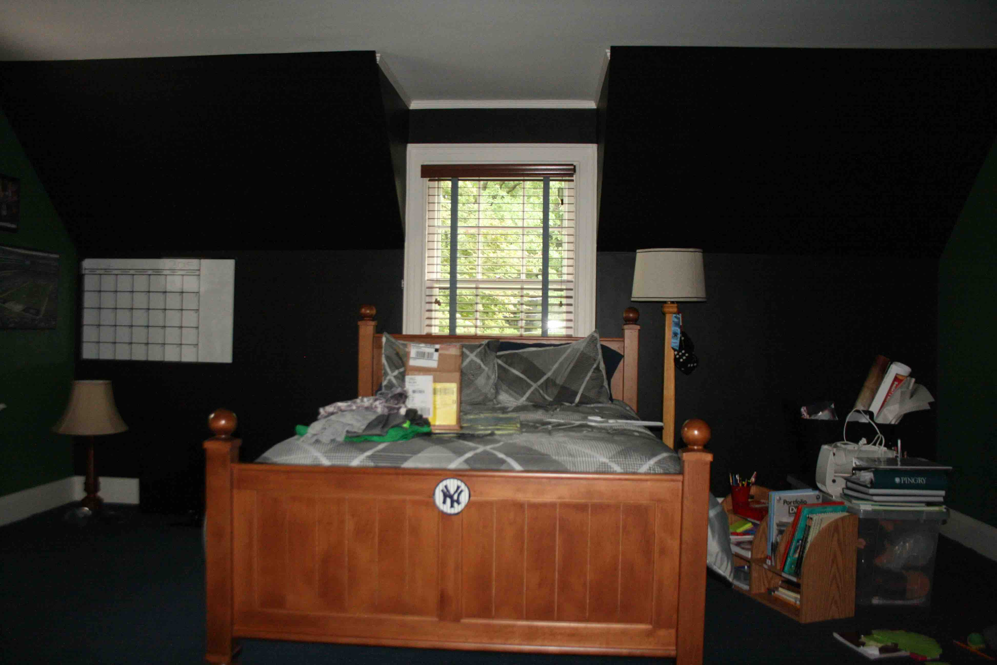 Teen Boy's BEDROOM & BATH – Summit, NJ Home Renovation Before Photos