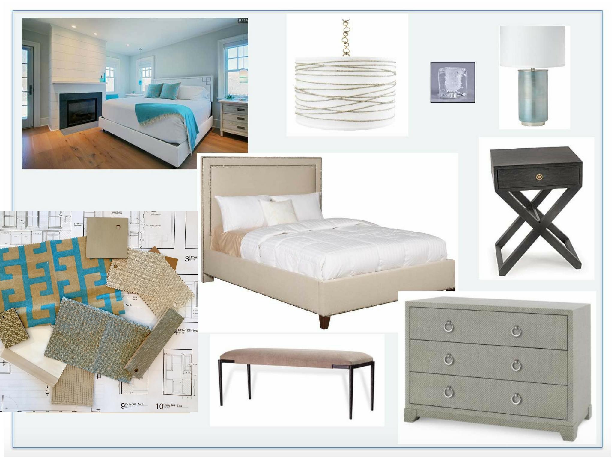 Nantucket Beach House Guest Room Design