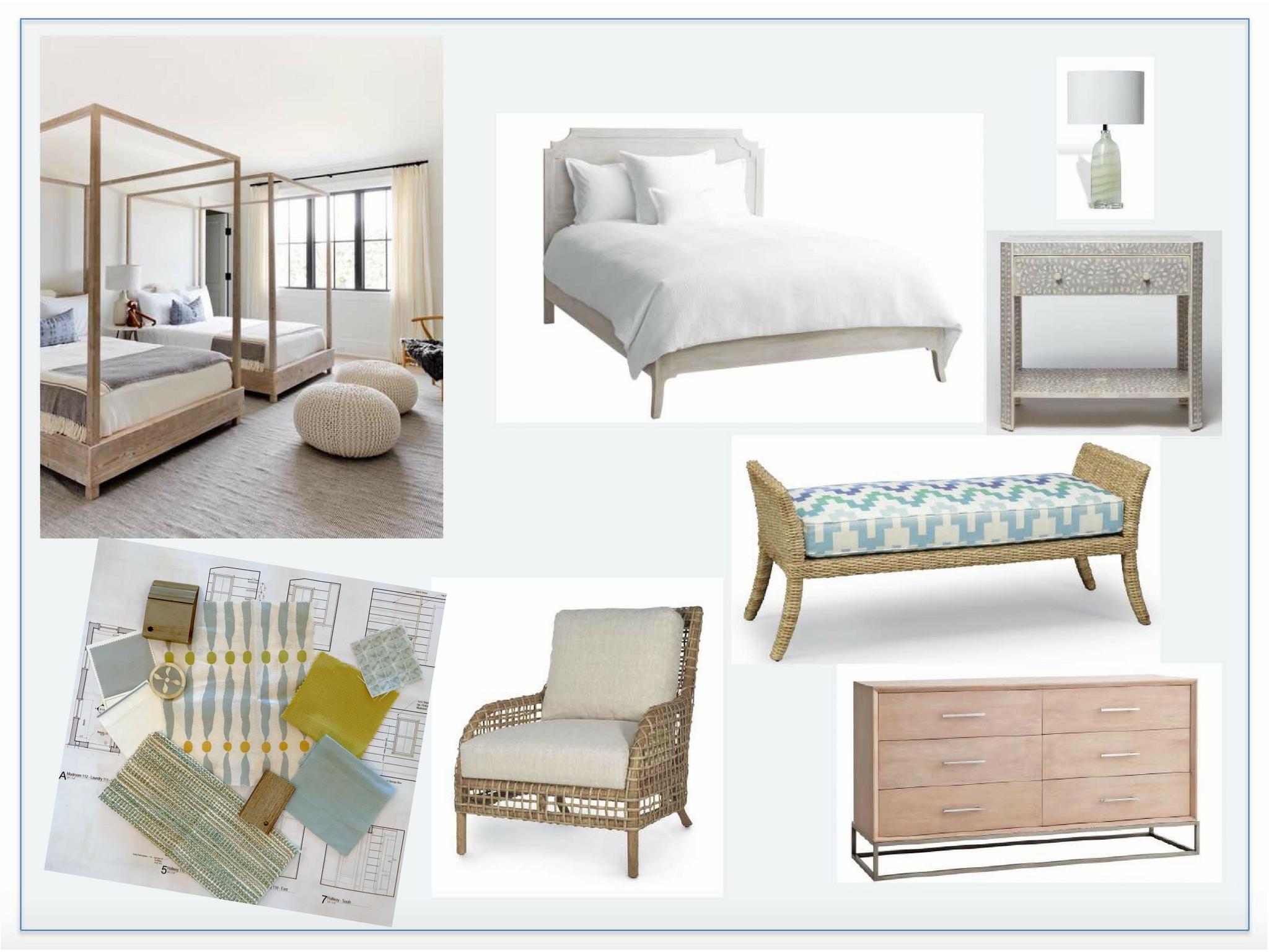 Nantucket Summer Home Girl's Room Design