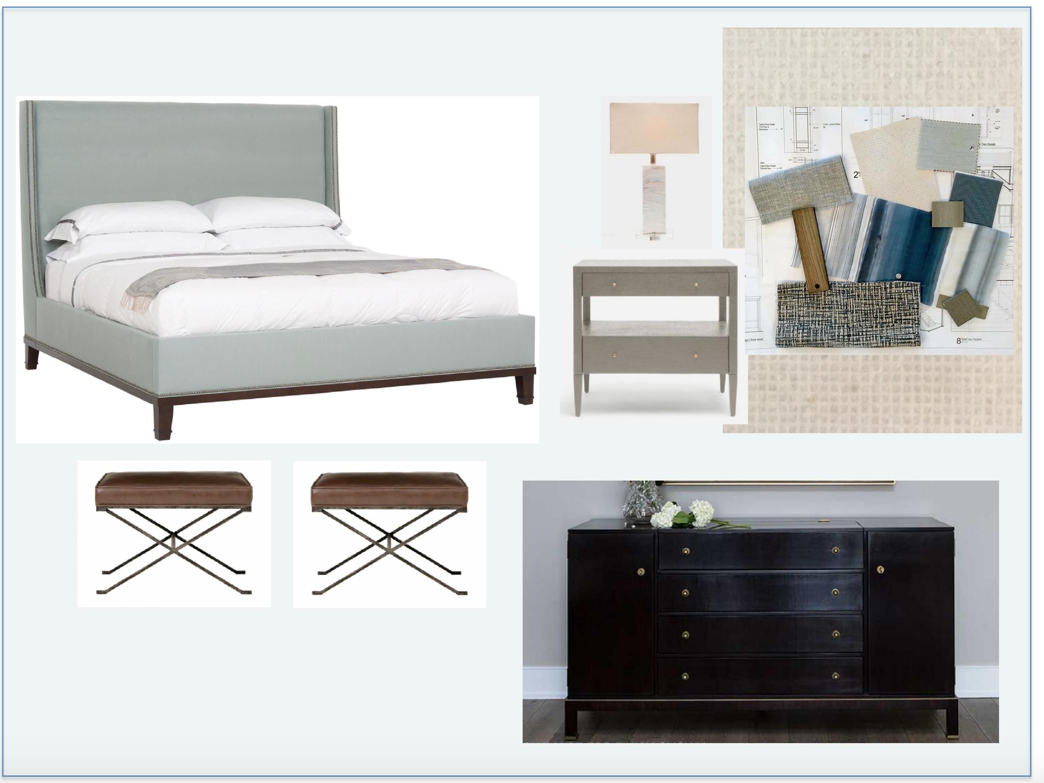 Nantucket Beach House Master Bedroom Design