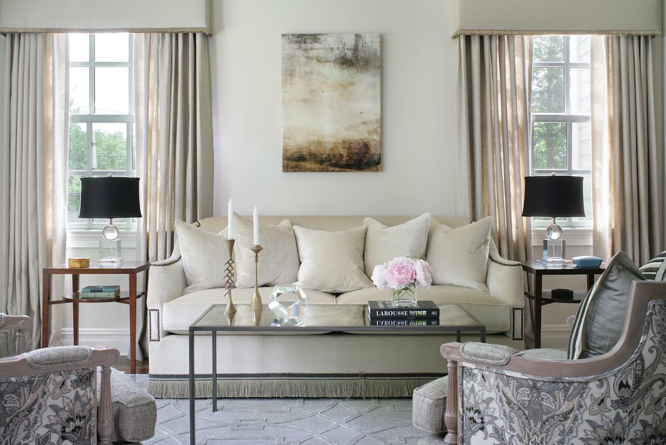White Interiors – Living Room