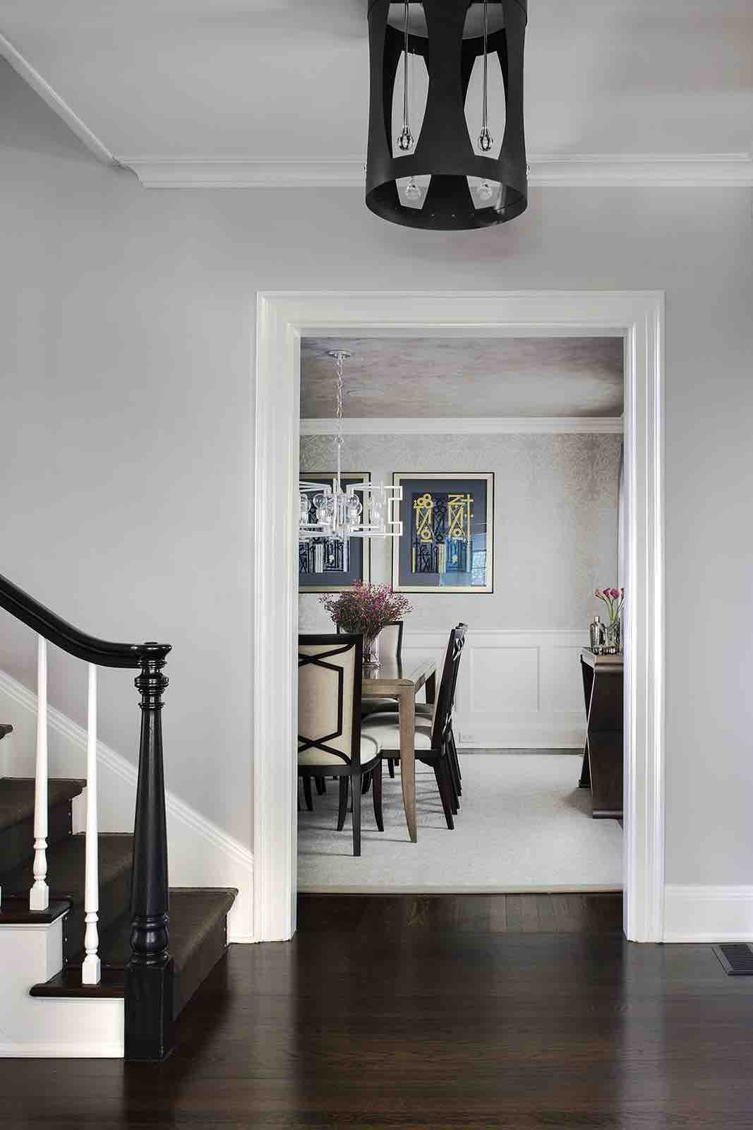 Dining Room – Summit, NJ Home Renovation
