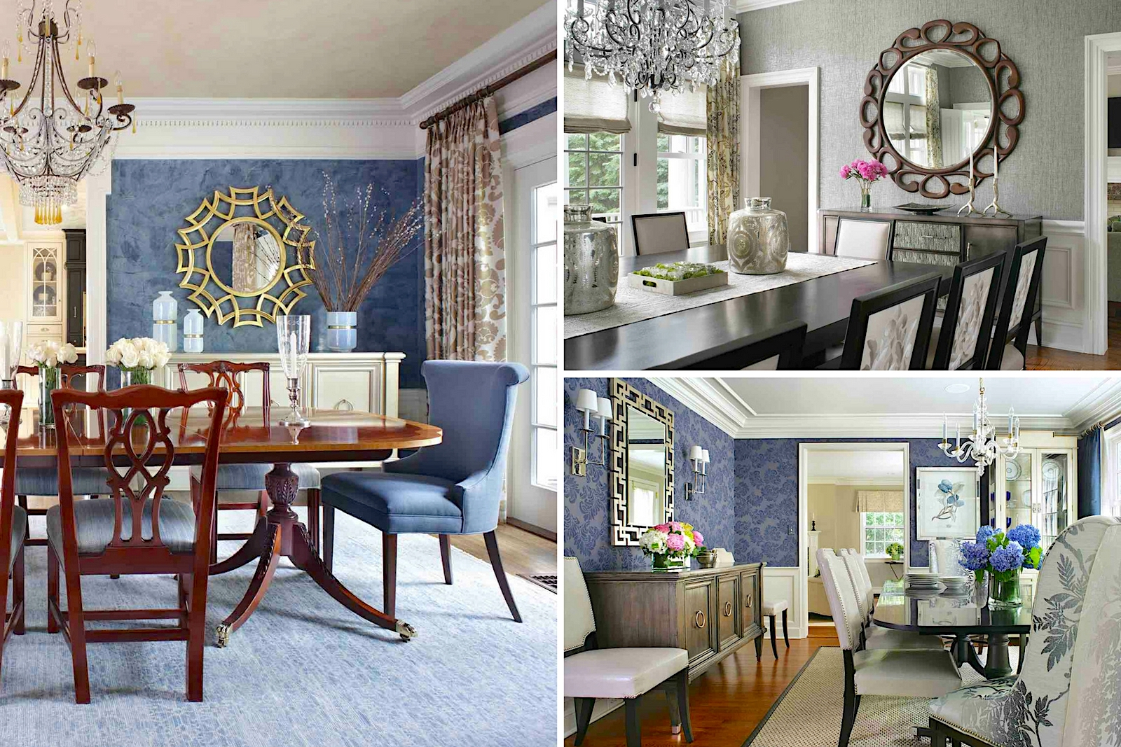 How to Use Mirrors in Dining Room Decor