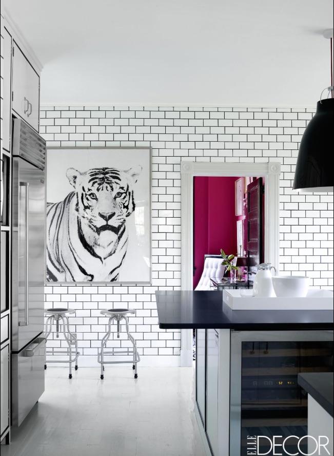 Elle Decor White Room Design