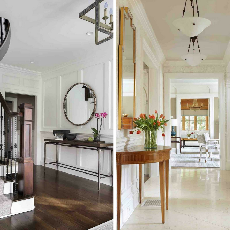 How to Use Mirrors in Entryways