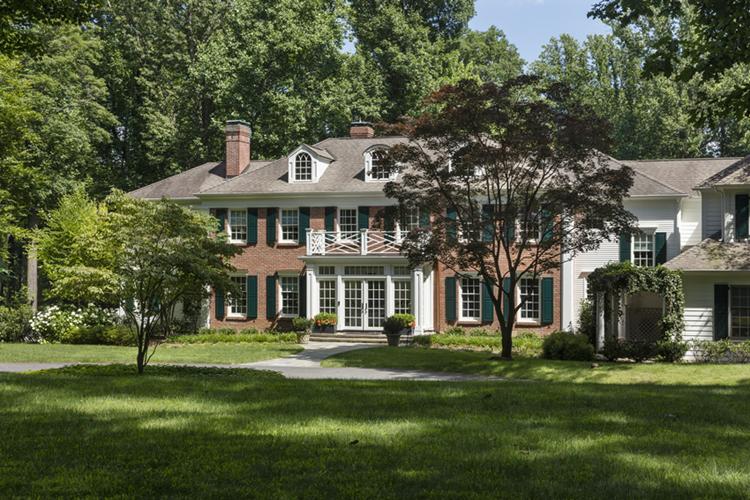 Colonial Revival Home Mendham NJ