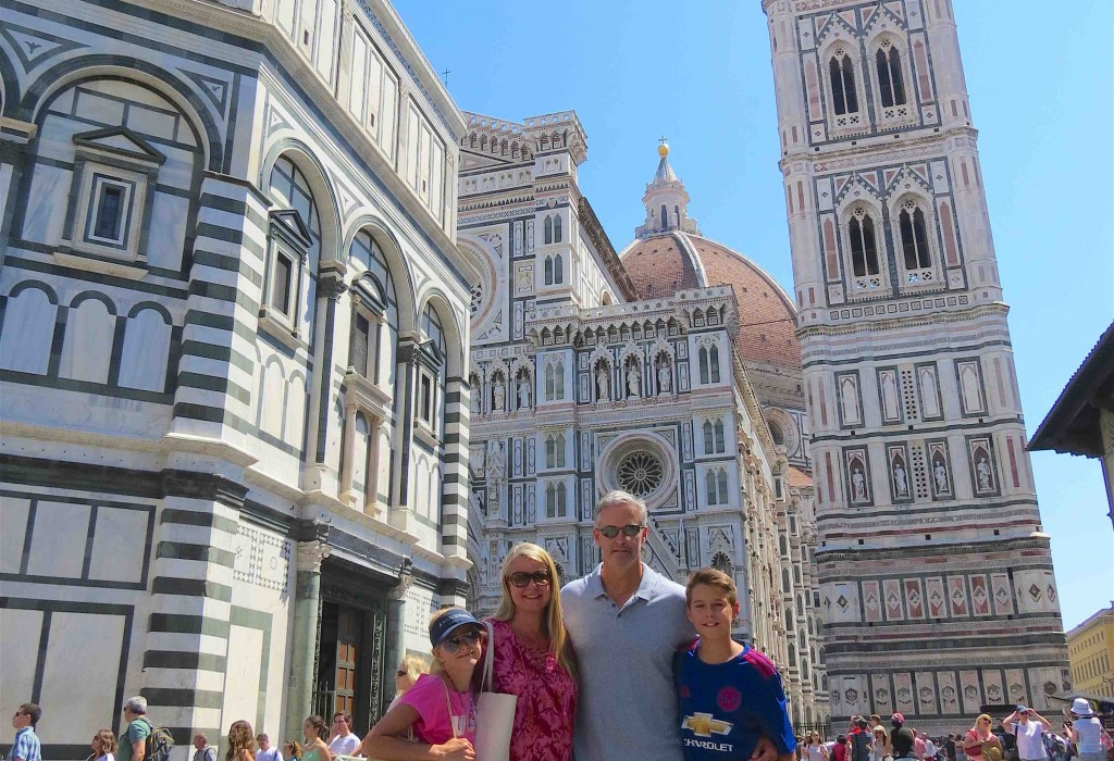 Family Travel - Duomo in Florence, Italy