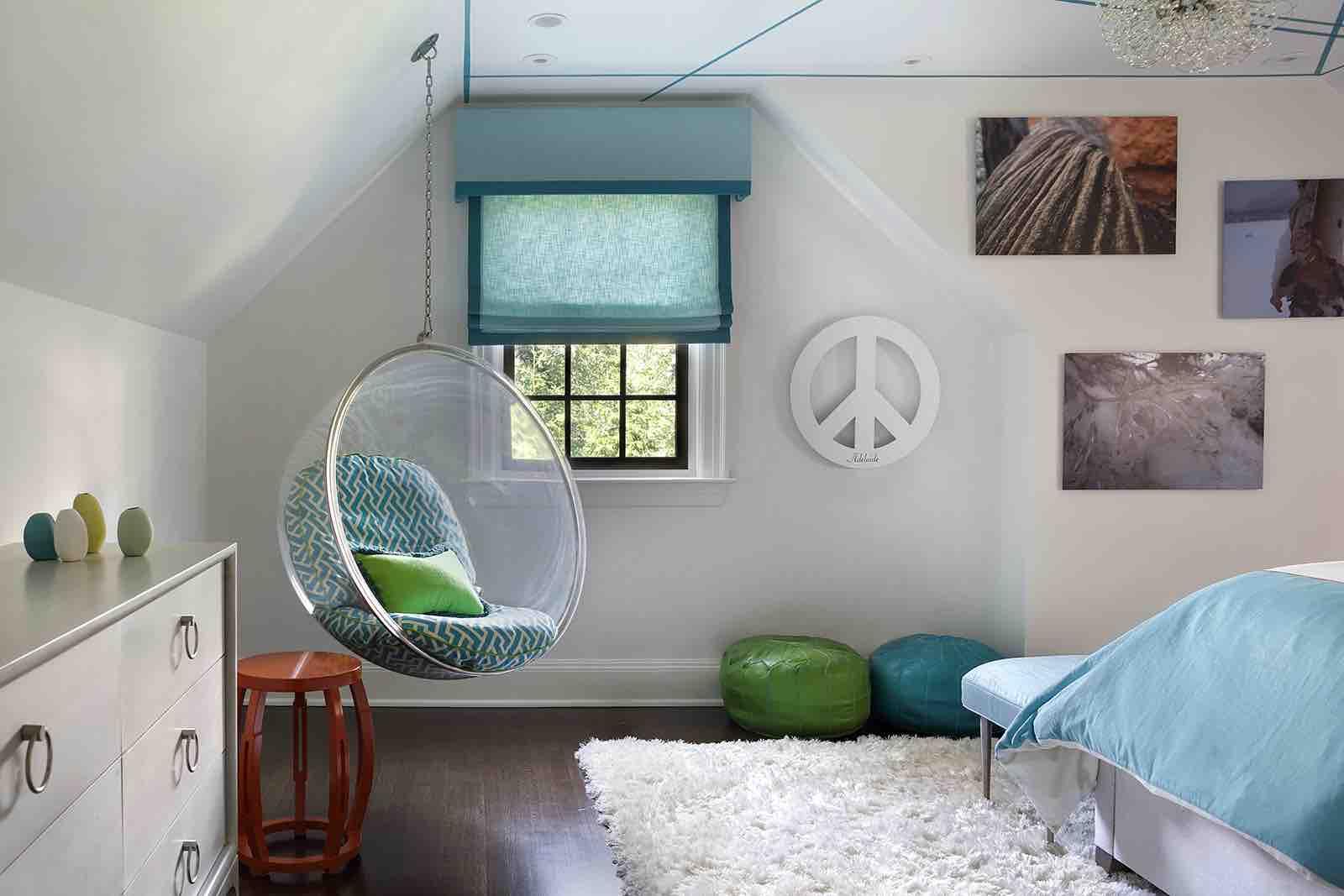 Teen Girl's BEDROOM & BATH – Summit, NJ Home Renovation
