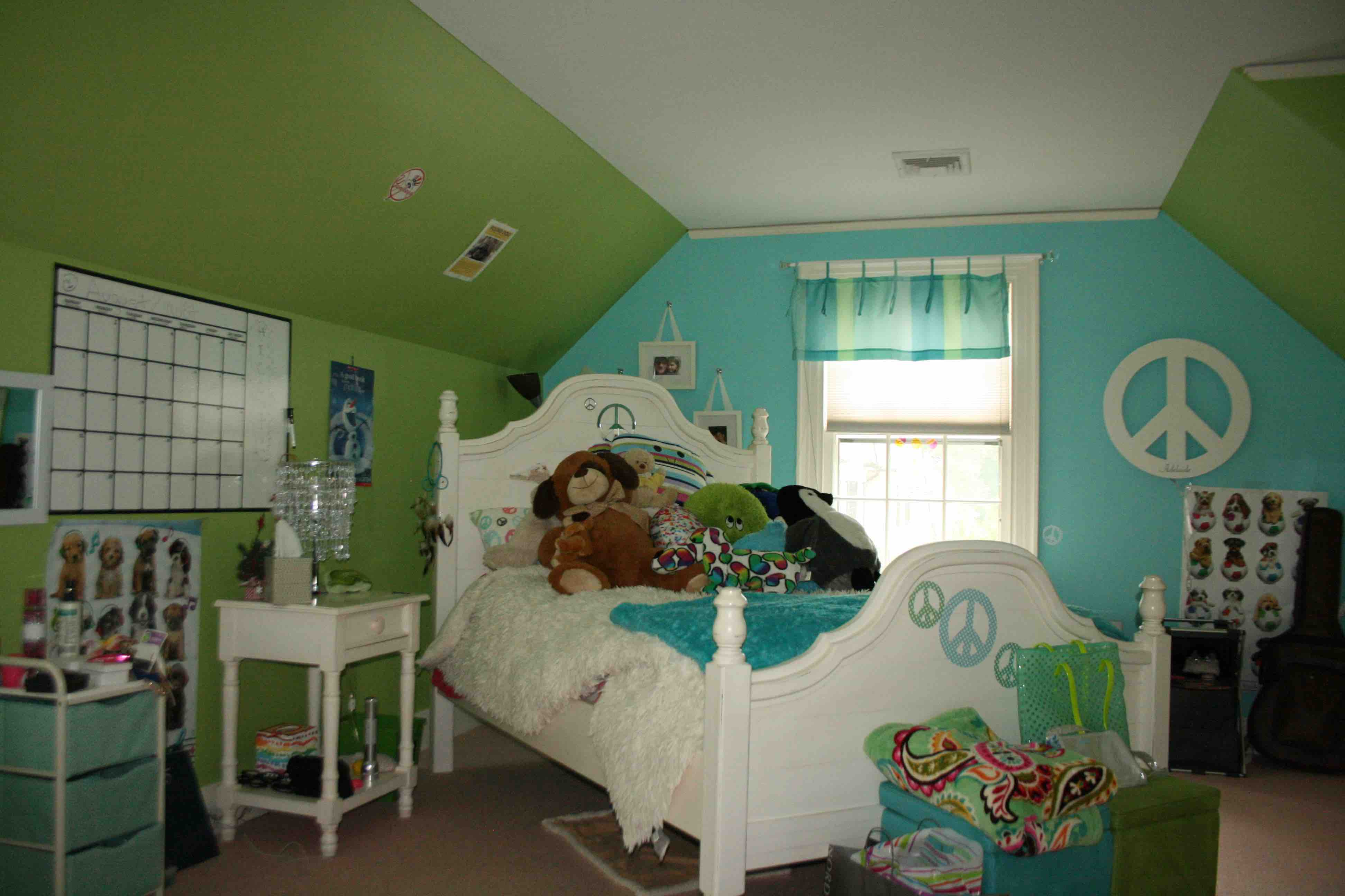 Teen Girl's BEDROOM & BATH – Summit, NJ Home Renovation Before Photos