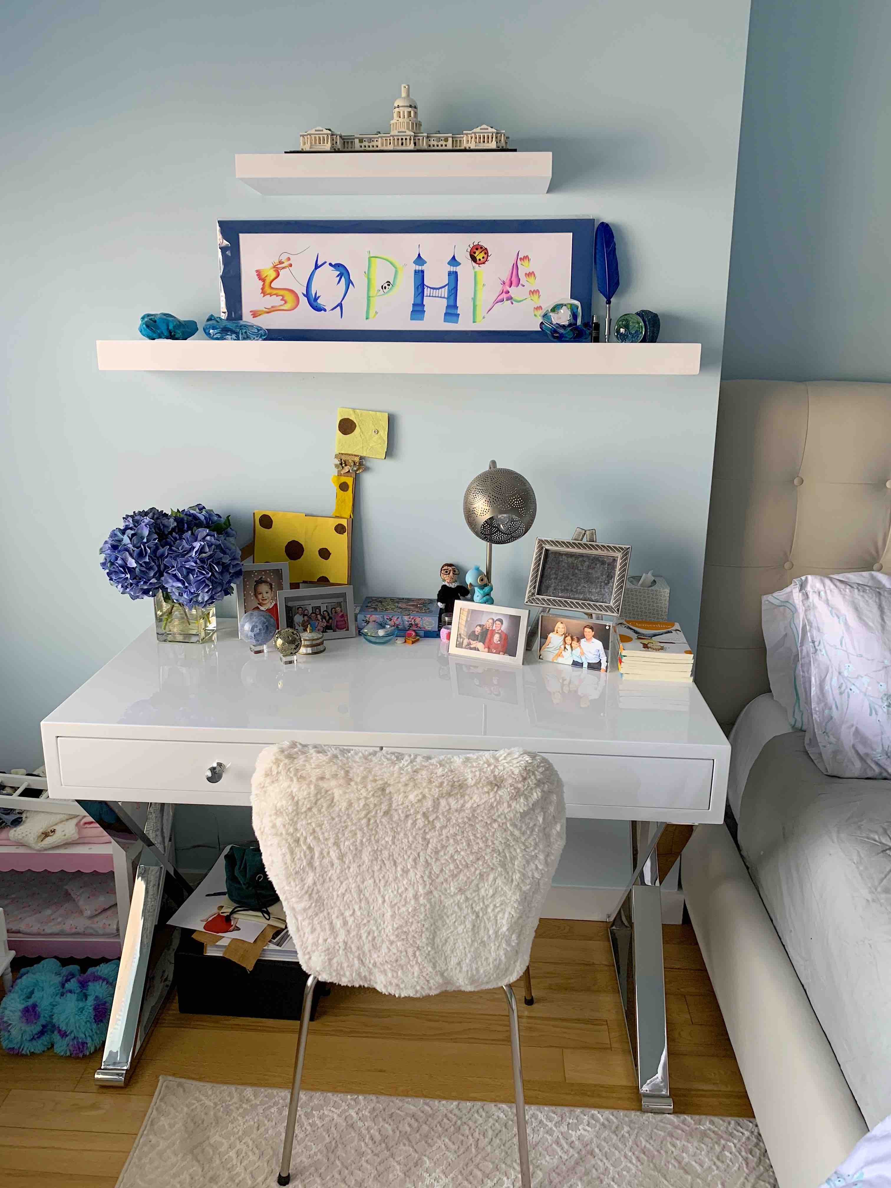 Kids Room Décor – Girls Room Age 8