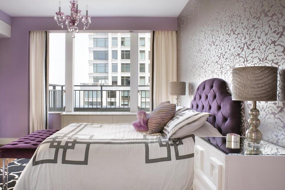 Lavendar Bedroom