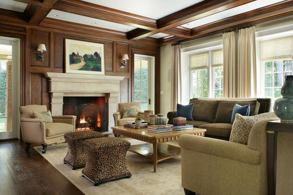 ... Tan Living Room ...