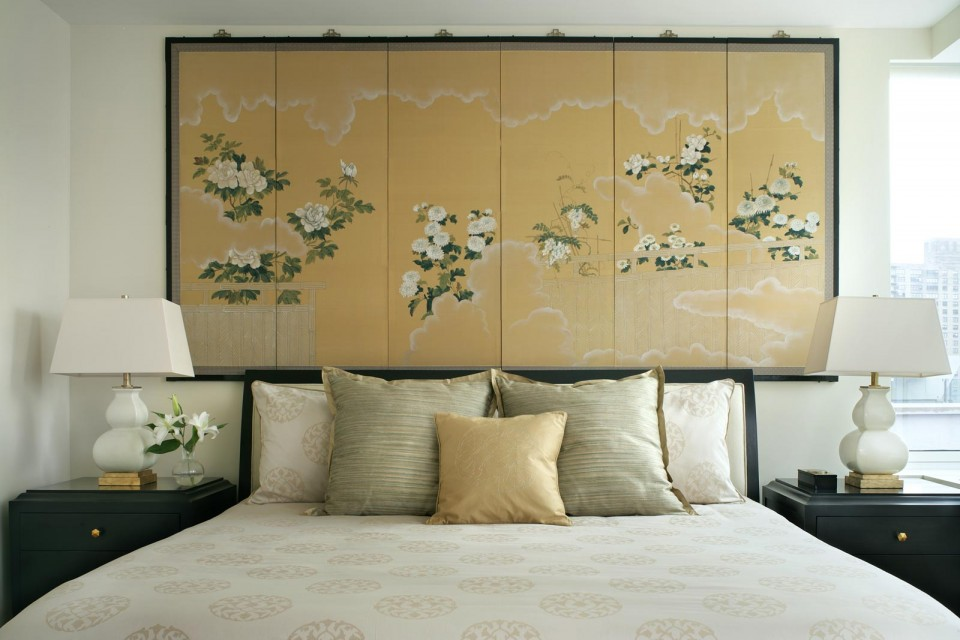 Asian Screen Bedroom