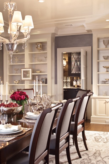 Holiday Decorating - Dining Room