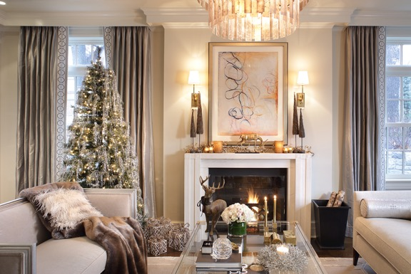 Holiday Decoration - Living Room