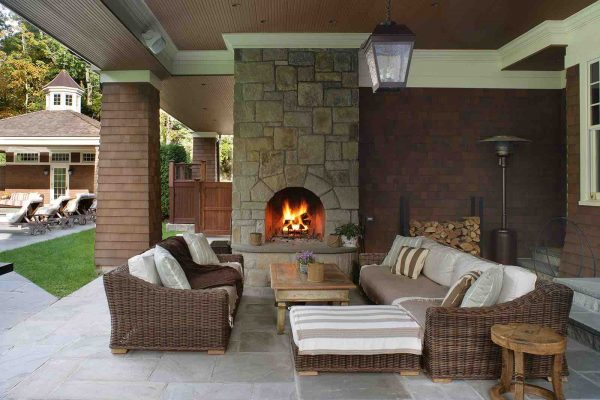 Fireplace Design - Outdoor Fireplaces