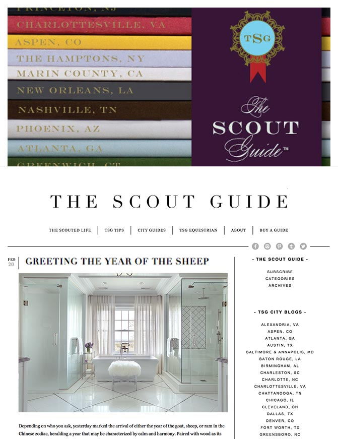 The Scout Guide - Greeting the Year of the Sheep