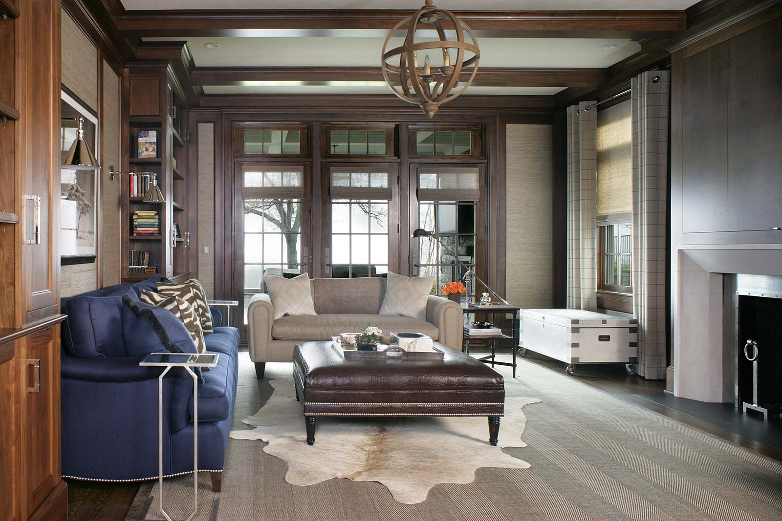 Home Liry Interior Design | Valerie Grant Interiors Home Liry Study Interior Design on