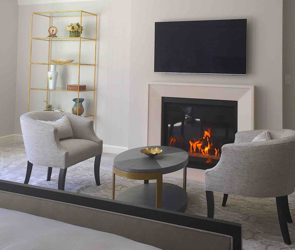 Fireplace Design - Master Bedroom Fireplaces
