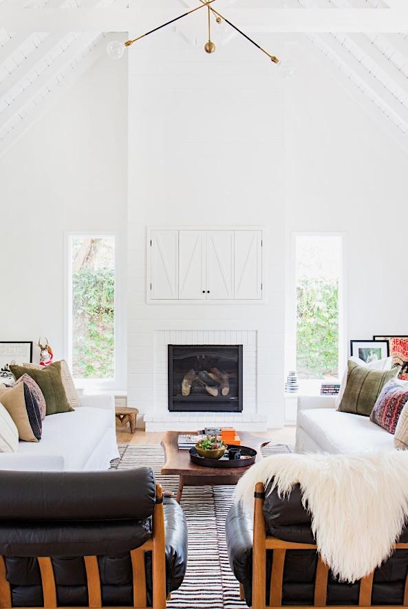 House Beautiful White Designed Interiors