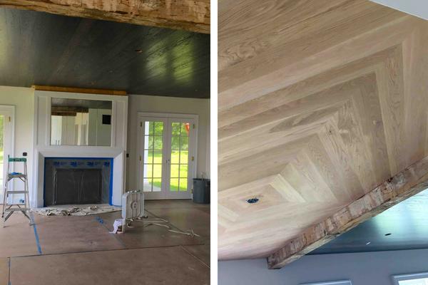 Family Room - Dutchess County Home Renovation