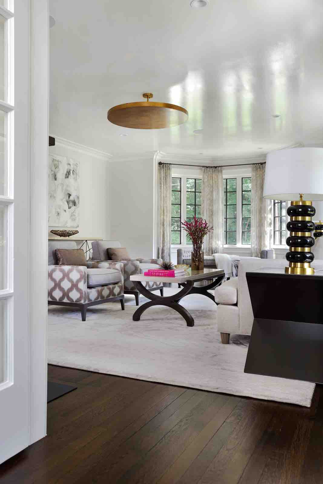Living Room – Summit, NJ Home Renovation