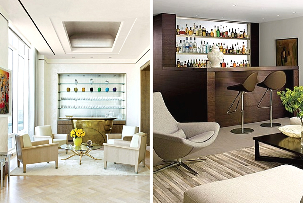 Home Bar Design: Just in Time for the Holidays! | Valerie Grant ...