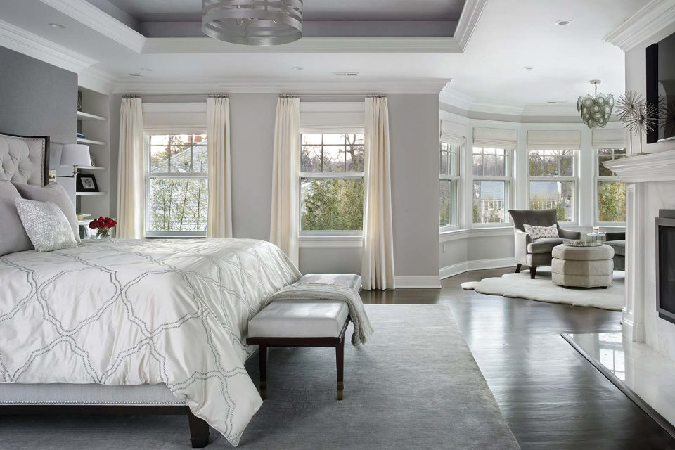 Grand Master Bedroom with Sitting Area
