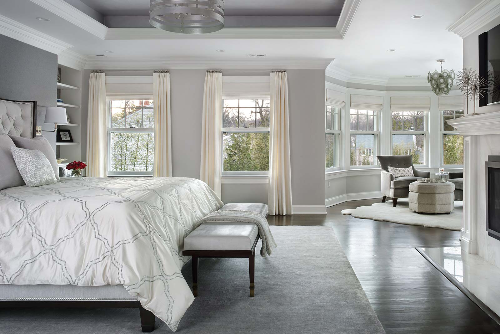 Master-Bedroom-window-seating | Valerie Grant Interiors