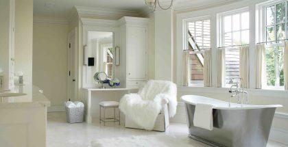 Designing in White - Bathroom