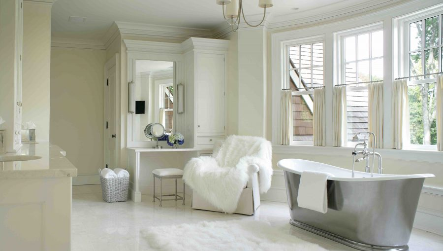 Designing in White - Bathroom