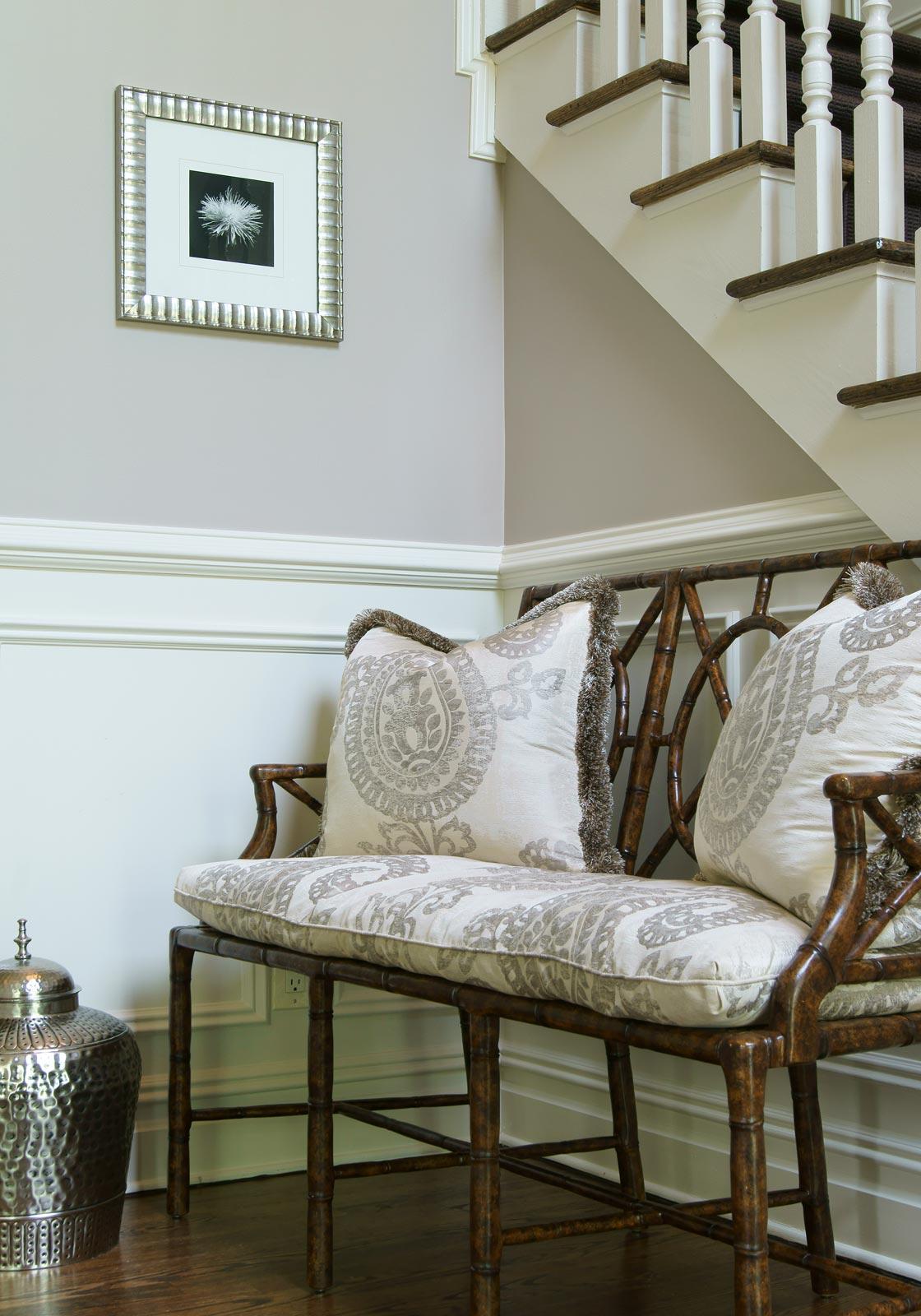 Foyer Seating Nj : Chatham nj valerie grant interiors