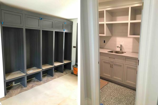 Mudroom & Laundry - Dutchess County Home Renovation