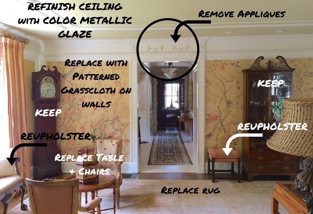 Before & After - Living Room Re-design
