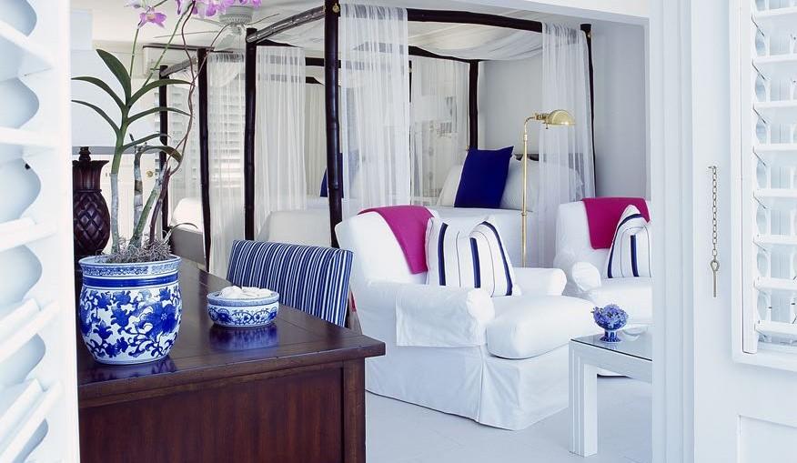 Round Hill Jamaica, Guest Room by Ralph Lauren