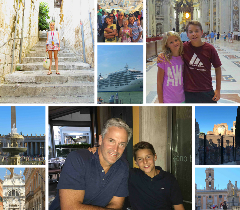 Family Pictures from Italy Trip