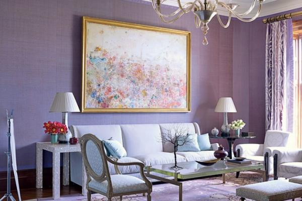 Floral Living Room
