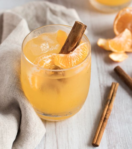 Clementine Whiskey Smash Cocktail Recipe