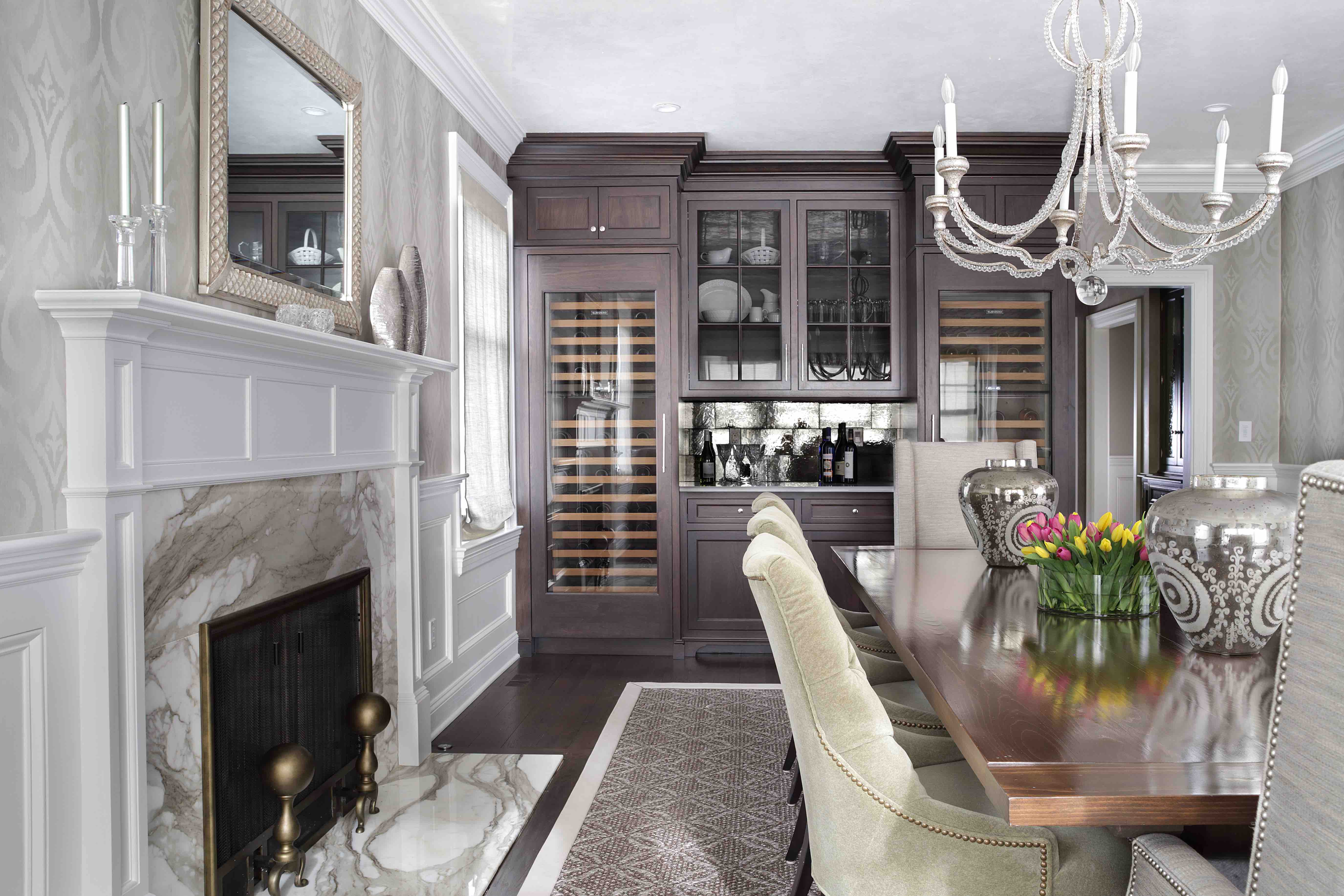 Fireplace Design - Dining Room Fireplaces