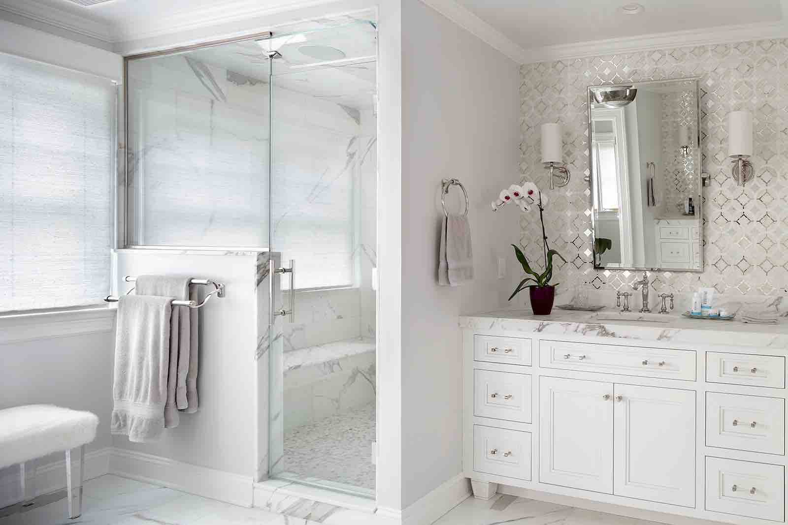 White Interiors – Bathroom