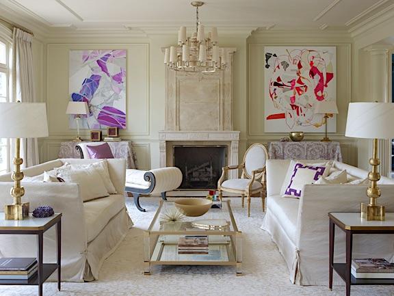 1st Dibs Designed White Interiors